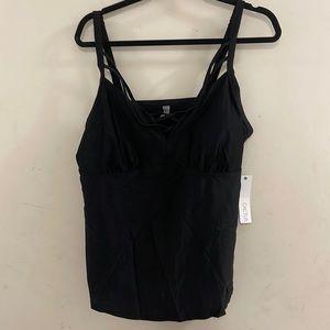 Addition Elle black tankini swim top